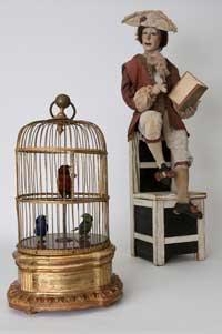 Poète et cage